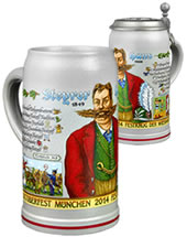 Wirtekrug - Munich Oktoberfest beer steins and mugs